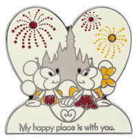 Mickey & Minnie My Happy Place is with You Disney Pin