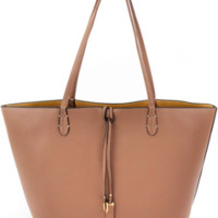 Remi and Reid Departure Tote- Taupe/Beige