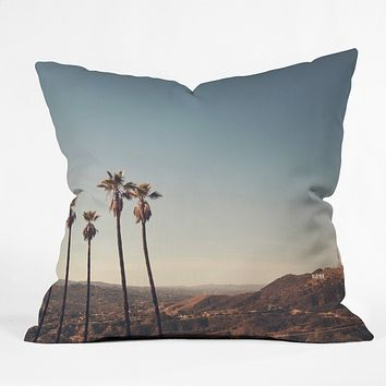 Catherine McDonald Hollywood Hills Outdoor Throw Pillow