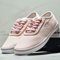 FILA New fashion casual women embroidery letter shoes Pink