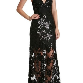 Dress the Population Vivienne Sequin Lace Gown | Nordstrom