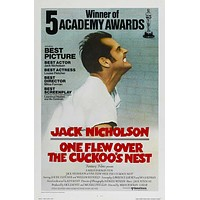 One Flew Over The Cuckoo's Nest 27x40 Movie Poster (1975)