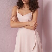 Sateen Tulip Cami Dress