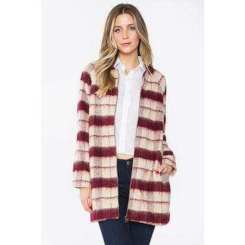 Erica Window Pane Plaid Jacket