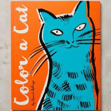 Color A Cat by Anthropologie in Orange Size: One Size Books
