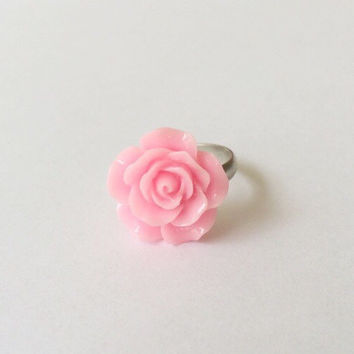 Realistic rose ring, rose ring, rose, cute rose, jewelry, jewelry ring