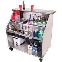 Glastender PBC48-12 Portable Bar for Stackable Cups 48""