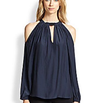Ramy Brook - Meryl Cold-Shoulder Blouse - Saks Fifth Avenue Mobile