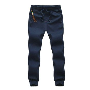 2017 New Fashion Mens Joggers Harem Pants Casual Men Boys Jogger Pant Male Sweatpants Trousers AYG183