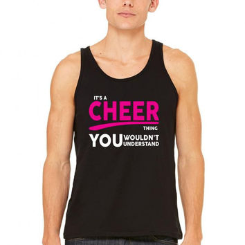 its a cheer thing 1 tank top