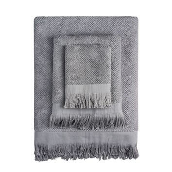 Grey Rice Towels