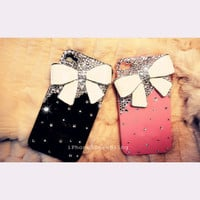 iPhone case, iPhone 5 Case, iPhone 4 Case, iPhone 4s Case, iPhone 5 bling case, Bling iPhone 4 case, Cute iPhone 4 case, iPhone 4 bow case
