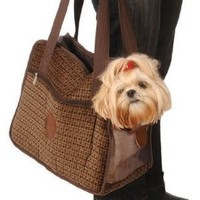 Sherpa 43017 Tote Around Town Pet Carrier, Small, Boston Tweed