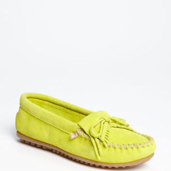 Minnetonka 'Kilty' Suede Moccasin (Nordstrom Exclusive Color) | Nordstrom