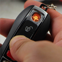 No Gas USB Electronic Rechargeable Battery Flameless Cigarette Cigar Lighter