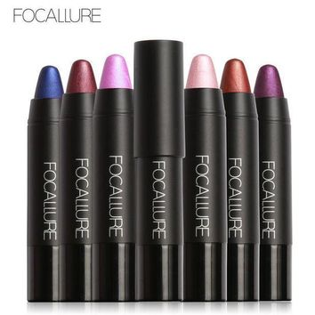 ESBONHC FOCALLURE NEW Colors Lipstick Matte Metallic Lipstick Waterproof Long-lasting Easy to Wear Cosmetic Nude Makeup Lips