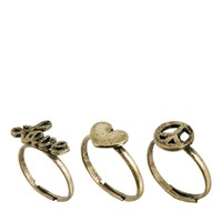 Classics 77 Love & Peace Multipack Ring