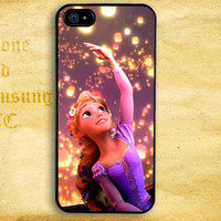 Tangled Rapunzel Light Lamp Design for iPhone  4 4s 5 5s 5c iPod 4 5 Touch and Samsung Galaxy s3 s4 s5 Case