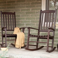 Coral Coast Indoor/Outdoor Mission Rocking Chair