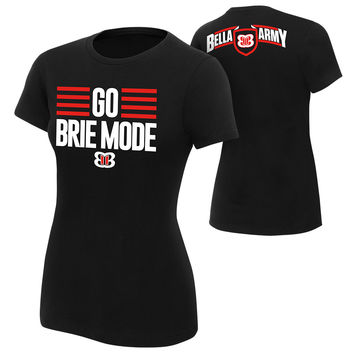 "Brie Bella ""Go Brie Mode"" Women's Authentic T-Shirt"