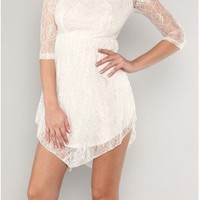 The 2013 Floral Lace Dress - 29 and Under