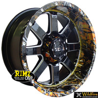 Gear 726 Wildfire Camo Finish| Camo dip most any wheel at Rimz One