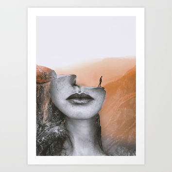Cliff Art Print by dada22