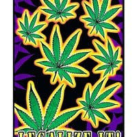 Legalize It Blacklight Poster - Spencer's