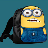 New Design Of Minion Despicable 2 for Backpack / Custom Bag / School Bag / Children Bag / Custom School Bag *