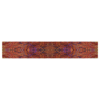 "Nikposium ""Sedona"" Orange red Table Runner"