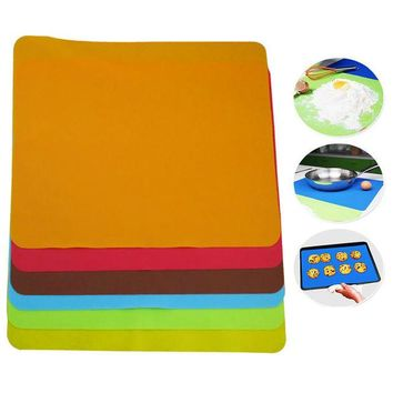 DCCKL72 Silicone Mats Baking Liner Best Silicone Oven Mat Heat Insulation Pad Bakeware Kid Table Mat