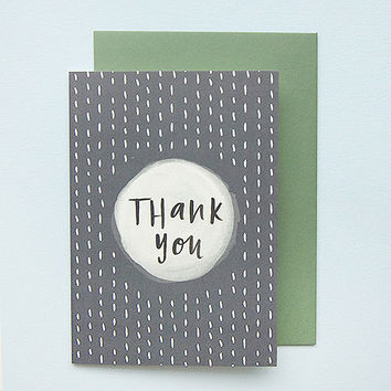 Thank You Greeting Card by In The Daylight