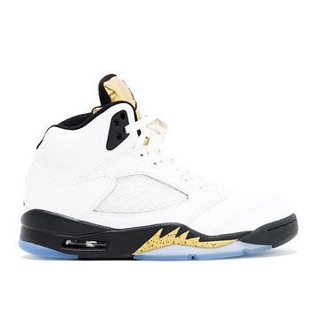 "Air Jordan 5 Retro ""Olympic Gold Medal"""