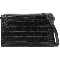 Saint Laurent - Catherine croc-effect leather shoulder bag