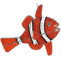 Handmade Beaded Clown Fish - South Africa