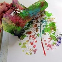 Piccsy :: Kleas-Leaf Painting