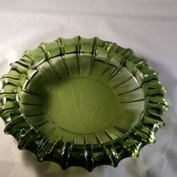 Blenko Emerald Green Ashtray