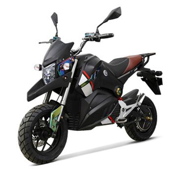 Adult electric motorcycle 72V 1500W citycoco electric bike ASC intelligent power supplement