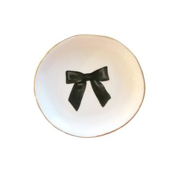 LITTLE BLACK BOW TRINKET DISH