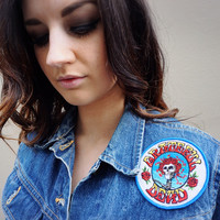 """""""Roadie"""" Denim Jacket with Patches"""