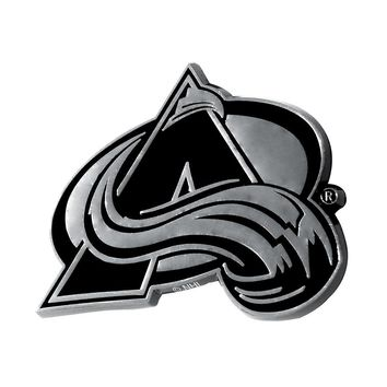 Colorado Avalanche NHL Chrome Car Emblem (2.3in x 3.7in)