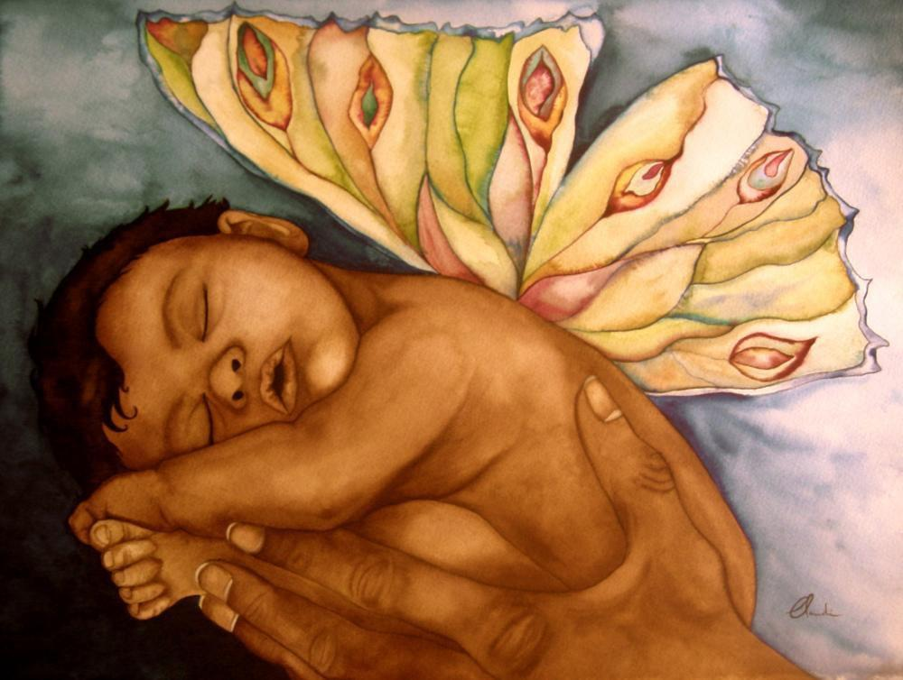Sleeping Baby Art Print  on Luulla