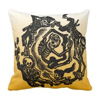 Day of the Dead Pillow - Jose Posada