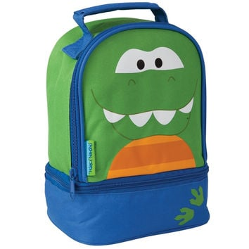 Dinosaur Face Soft Lunch Tote