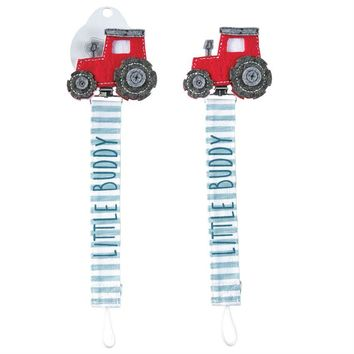 MUD PIE LITTLE BUDDY TRACTOR PACY CLIP