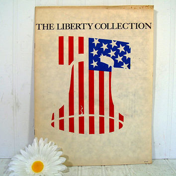The Liberty Collection Book 7 Historic American Governmental Political Writings Printed on Parchment Promoting the USA American Way of Life