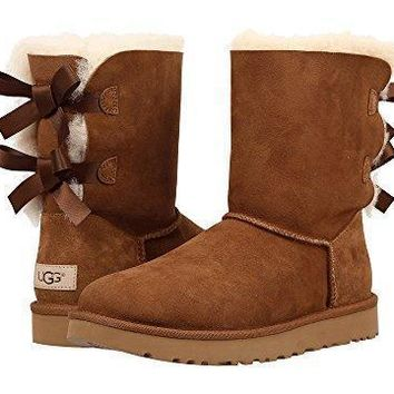 Ugg Women Male Fashion Wool Snow Boots-60