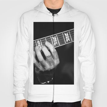 Guitar Hand Hoody by Cinema4design