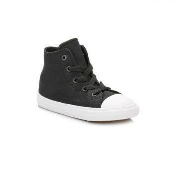 DCCK1IN converse all star chuck taylor ii infant black white hi top trainers