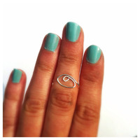 All Seeing Eye Midi Ring